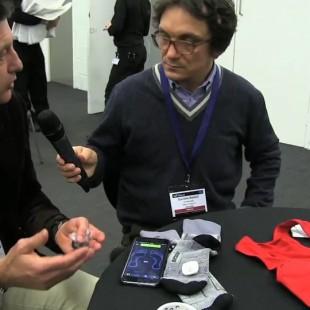 I sensori tessili per le calze smart